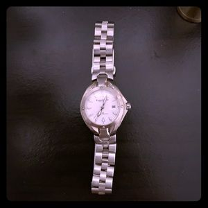 Ladies Authentic Silver Kenneth Cole watch